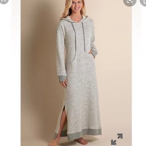 Soft Surroundings Lazy Day Lounger Sweater Dress